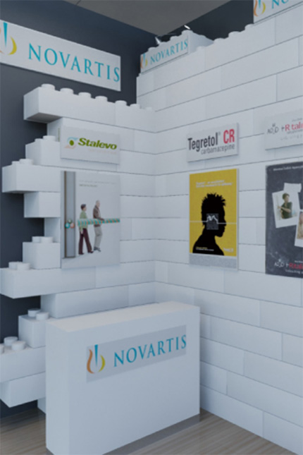 Novartis Medical Exhibition standl