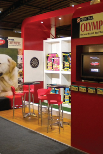 PURINA  Exhibition stand