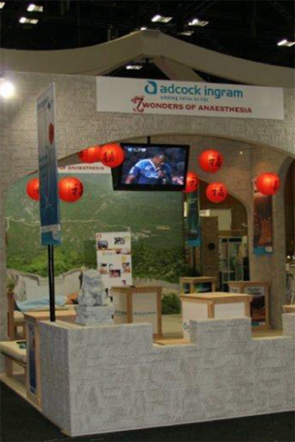ADCOCK INGRAM Medical Exhibition stand