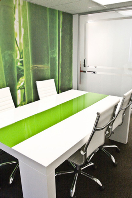 Custom boardroom and furniture
