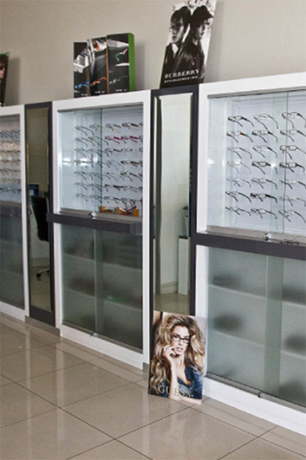 Shopfitting Lonehill Optometrist